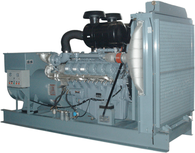 INTERGEN Genset Powered by MAN