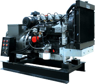 INTERGEN Genset Powered by LOMBARDINI