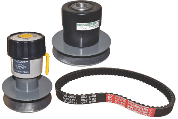 PE-EI Variable Speed Pulley